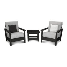 Harbour 3 Piece Deep Seating Group with Cushion