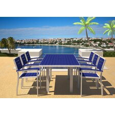 Euro 7 Piece Dining Set