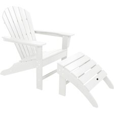 South Beach Adirondack 2 Piece Chair Set