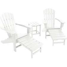 3-Piece Polywood Adirondack Seating Group