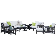 Mission 8 Piece Deep Seating Group