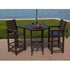 Captain 3 Piece Dining Set