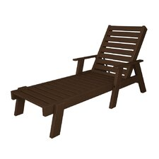 Captain Chaise Lounge with Arms
