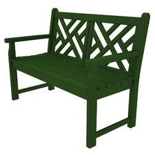 "Chippendale 48"" Plastic Bench"