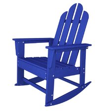 Long Island Adirondack Rocking Chair in Pacific Blue