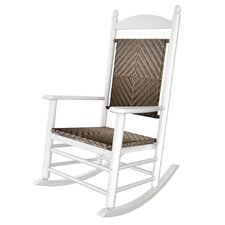 Rhodes Polywood Rocking Chair in White