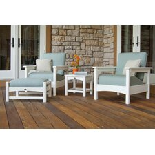 Club 4 Piece Deep Seating Set