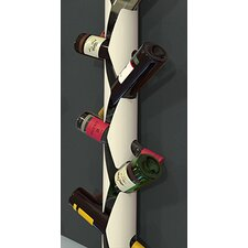 10 Bottle Wall Mounted Wine Rack