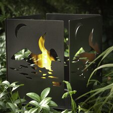 Four Series Cottage Steel Bio Ethanol Tabletop Fireplace