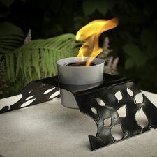 Aspen Steel Gel / Bio Ethanol Tabletop Fireplace