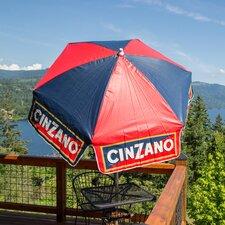 6' Cinzano Market Beach Pole Umbrella