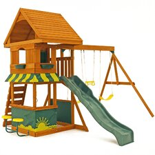 Magnolia Wooden Swing Set