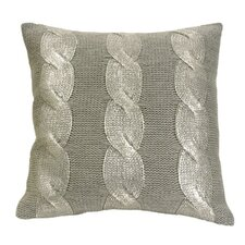 Cables Throw Pillow