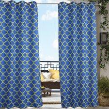 Outdoor Décor Arbor Single Curtain Panel
