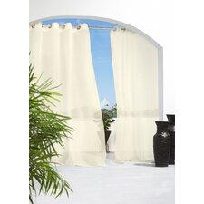 Outdoor Décor Grommet Top Curtain Panel