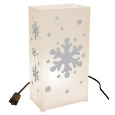 Snowflake 10 Count Electric Luminary Kit