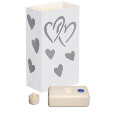 12 Count Battery Operated Luminary Kit