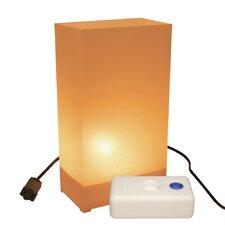 "10.5"" H Electric Luminaria Kit Table Lamp with Rectangular Shade (Set of 10)"