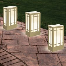 "11"" H  Lantern Luminaria Bags Table Lamp with Rectangular Shade (Set of 24)"