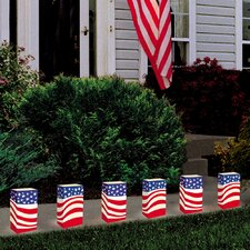 Americana Luminaria Bags (Set of 24)