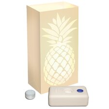 "11"" H Pineapple Kit Table Lamp with Rectangular Shade (Set of 12)"