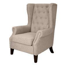Dorothy Upholstered Wingback Chair