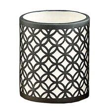 Circular Link Porcelain Tealight Candle Holder