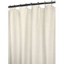 Baby Waffle 100% Cotton Ultra Spa Shower Curtain
