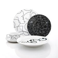 Letters Dinnerware Collection