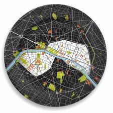 "City On A Plate 12"" Paris Dinner Plate"