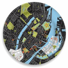"City on a Plate 12"" Copenhagen Dinner Plate"