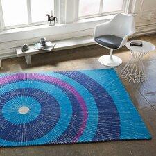 Eccentric Blue & Purple Area Rug