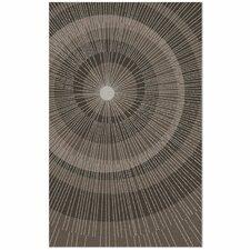 Eccentric Brown/Tan Area Rug