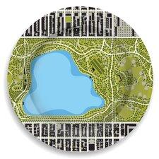 """Garden 12"""" Central Park Reservoir Plate"""