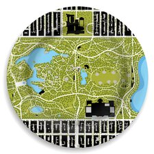 """Garden 12"""" Central Park Great Lawn Plate"""