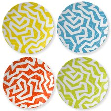"Cooper Hewitt 8.5"" 'Spinne' Coupe Plate (Set of 4)"
