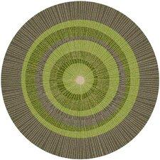 Eccentric Green/Sable Area Rug
