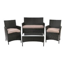 Montecito 4 Piece Seating Group with Cushions