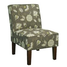Alexandra Side Chair in Green Floral (Set of 2)