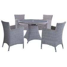 Cambria 5 Piece Dining Set with Cushions