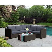 Morro Bay 3 Piece Deep Seating Group with Cushion