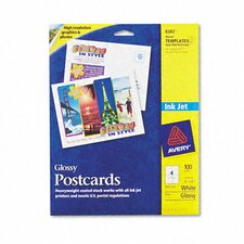 Inkjet Glossy Photo-Quality Flash Cards