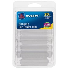 0.2 Cut Hanging File Tabs (Set of 6)