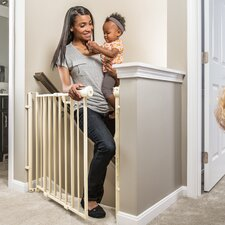 Easy Walk-Thru Top of Stairs Gate