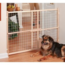 "Safety 50"" Wire & Mesh Position & Lock Plus Gate"
