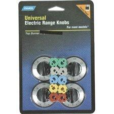 Electric Range Burner Knob (Set of 4)