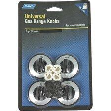 Gas Range Burner Knob (Set of 4)