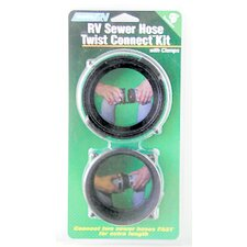 RV Sewer Hose Twist Connect Kit