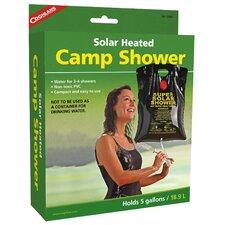 Solar Heated Camp Shower
