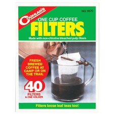 One Cup Coffee Filters (Set of 40)